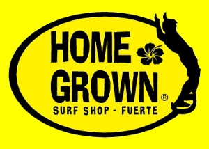 logo Homegrown flower surfshop